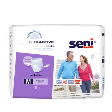 Seni Active Plus (Medium) 80-110cm, 1800ml, 10sl